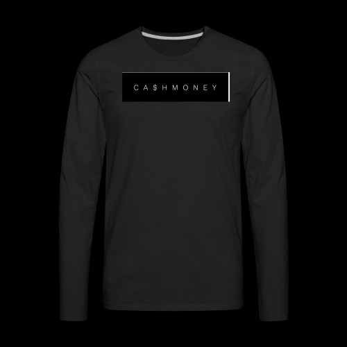 Ca$hMoney box logo v2 - Men's Premium Long Sleeve T-Shirt