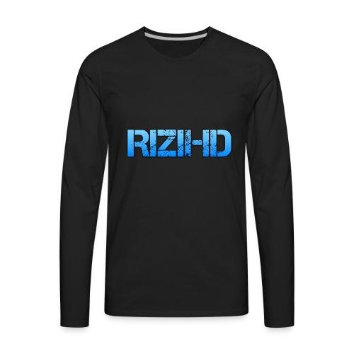 RiziHD shirt - Men's Premium Long Sleeve T-Shirt
