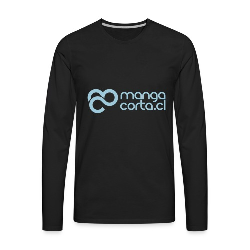 logo mangacorta cl - Men's Premium Long Sleeve T-Shirt