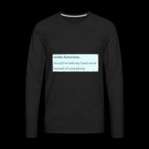 mobile - Men's Premium Long Sleeve T-Shirt