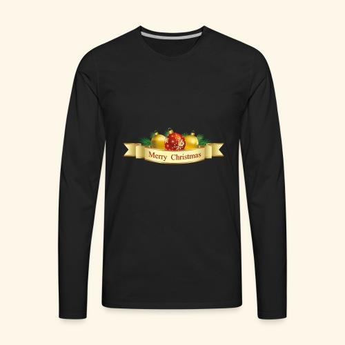 Merry Christmas To All - Men's Premium Long Sleeve T-Shirt