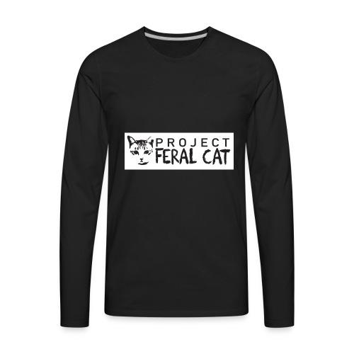 Feral Cat Fundraiser Official merchandise - Men's Premium Long Sleeve T-Shirt