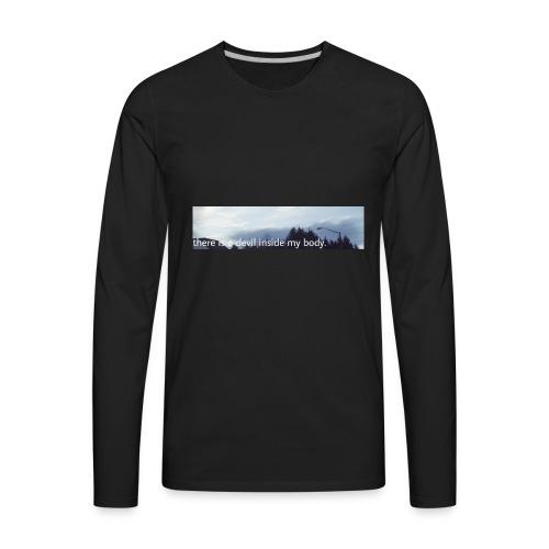 Sky Print - Men's Premium Long Sleeve T-Shirt