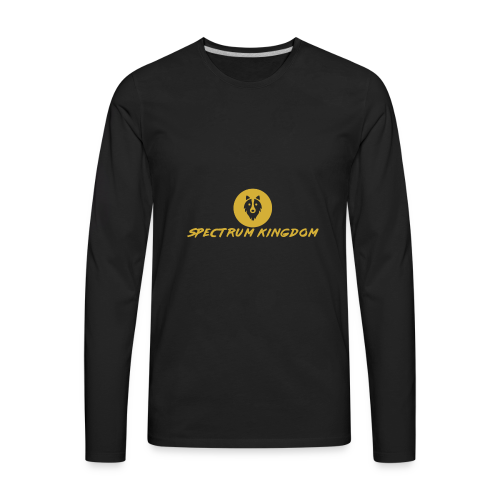 Spectrum Kingdom Gold Logo - Men's Premium Long Sleeve T-Shirt