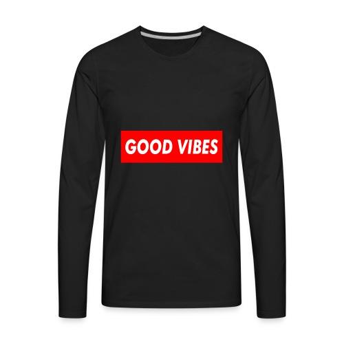GoodVibes - Men's Premium Long Sleeve T-Shirt