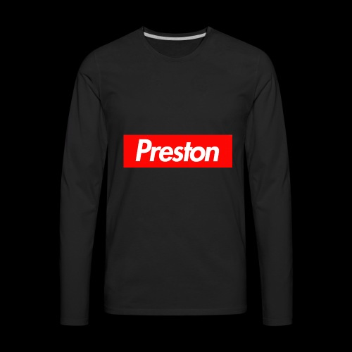 RealPrestonGamez Supreme Box - Men's Premium Long Sleeve T-Shirt