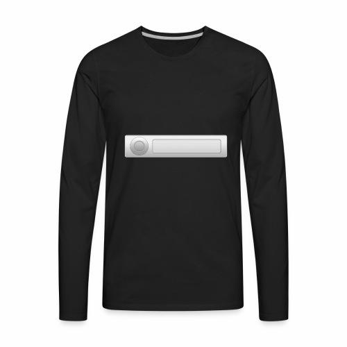 car radio style - Men's Premium Long Sleeve T-Shirt