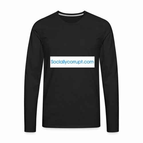 web address - Men's Premium Long Sleeve T-Shirt