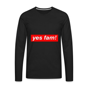 yesfam SHOP 01 - Men's Premium Long Sleeve T-Shirt