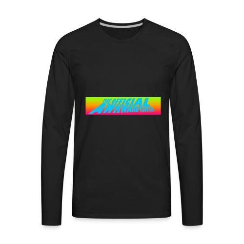 AWKWARD VLOG LIFE DESIGN - Men's Premium Long Sleeve T-Shirt