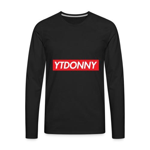 YTDonny Supreme Logo - Men's Premium Long Sleeve T-Shirt