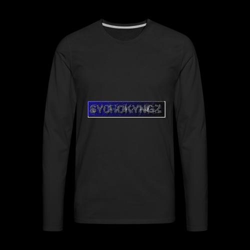SYCHOKYNGZ4 - Men's Premium Long Sleeve T-Shirt