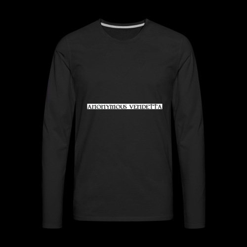 Anonymous Vendetta - Men's Premium Long Sleeve T-Shirt
