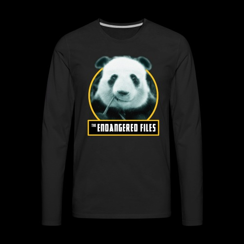 THE ENDANGERED FILES - Men's Premium Long Sleeve T-Shirt