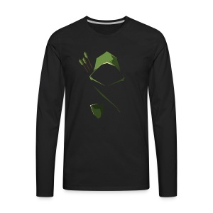 Arrow Hood - Men's Premium Long Sleeve T-Shirt