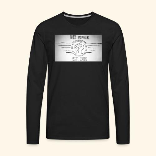 HIS power Original - Men's Premium Long Sleeve T-Shirt
