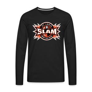 St Louis SLAM Logo - Men's Premium Long Sleeve T-Shirt