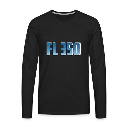 FL350 - T-shirt Premium à manches longues pour hommes