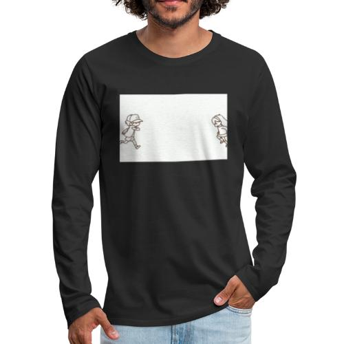 Cartoon - Men's Premium Long Sleeve T-Shirt