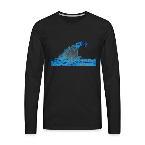 water_PNG3290 - Men's Premium Long Sleeve T-Shirt