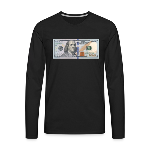 BENJI - Men's Premium Long Sleeve T-Shirt