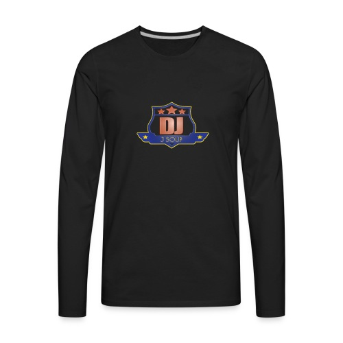 DJ_J_Soup_Blue - Men's Premium Long Sleeve T-Shirt
