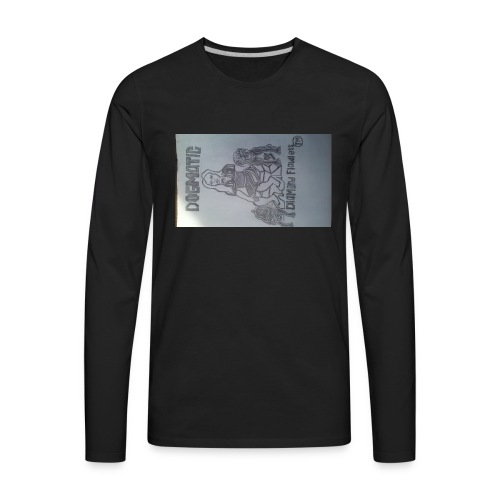 20160824_155409queen wear high profile staying 100 - Men's Premium Long Sleeve T-Shirt