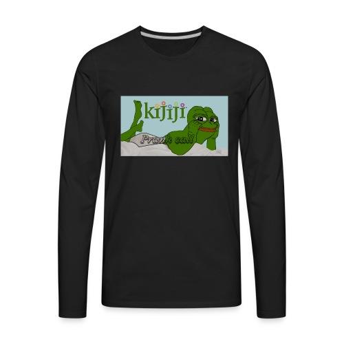 Classic Prank Call Shirt - Men's Premium Long Sleeve T-Shirt