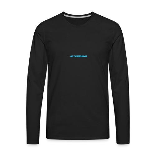 JetiShirt Black - Men's Premium Long Sleeve T-Shirt
