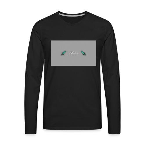 Gaming20MC swords - Men's Premium Long Sleeve T-Shirt