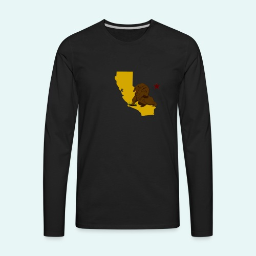 New California - Men's Premium Long Sleeve T-Shirt
