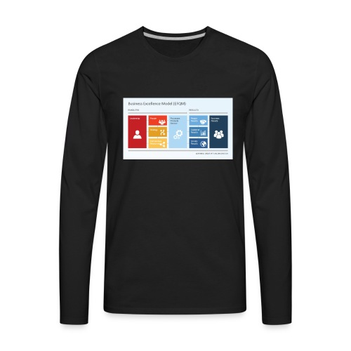 6806 01 business excellence model efqm 9 - Men's Premium Long Sleeve T-Shirt