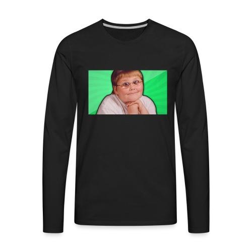 Nerd - Men's Premium Long Sleeve T-Shirt