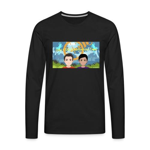 Gabi&sofis adventure time - Men's Premium Long Sleeve T-Shirt