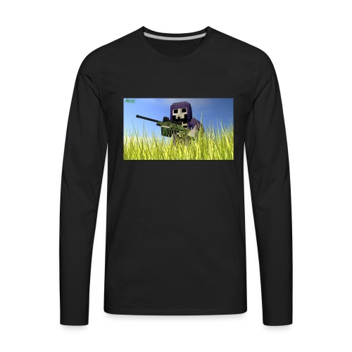 The gun DeathLord - Men's Premium Long Sleeve T-Shirt