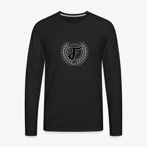 Fancy The Gamer Logo - Men's Premium Long Sleeve T-Shirt