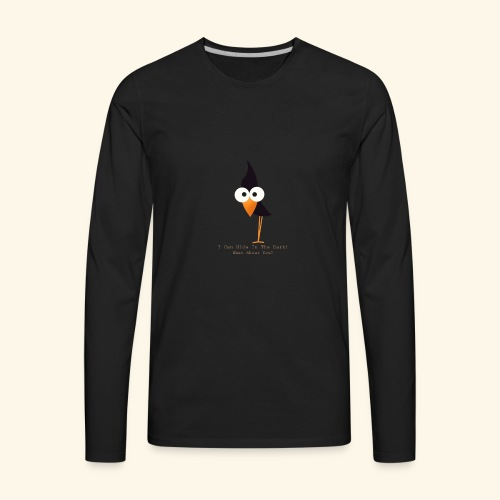 i can hide in the dark - Men's Premium Long Sleeve T-Shirt