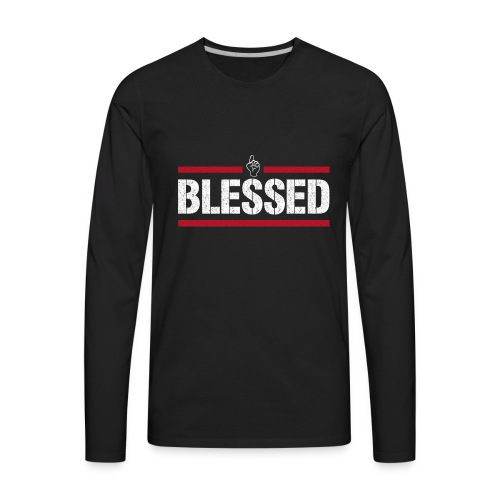 Blessed Tee - Men's Premium Long Sleeve T-Shirt