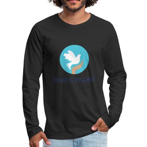 michael K New T shirt Design final 02 - Men's Premium Long Sleeve T-Shirt