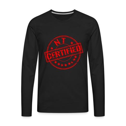 Certified Stamp Design - Men's Premium Long Sleeve T-Shirt