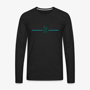 threesixtyonurlife logo - Men's Premium Long Sleeve T-Shirt