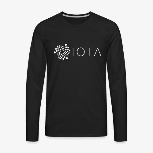 IOTA (MIOTA) Cryptocurrency - Men's Premium Long Sleeve T-Shirt