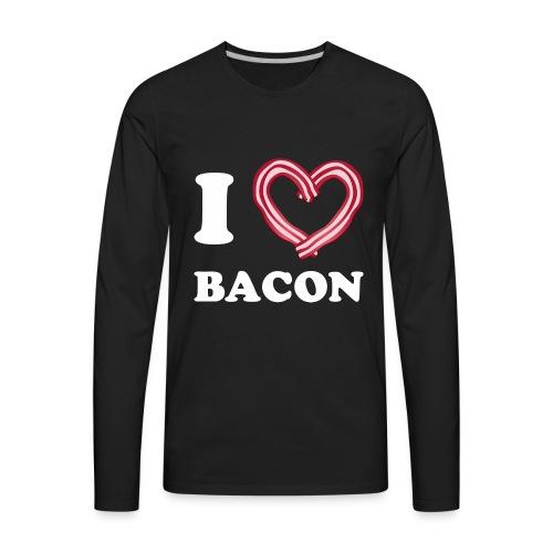 I L Bacon - Men's Premium Long Sleeve T-Shirt