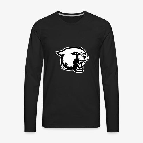 THE BLACK PANTHER - Men's Premium Long Sleeve T-Shirt