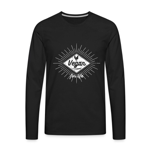 Vegan Apparel - Men's Premium Long Sleeve T-Shirt