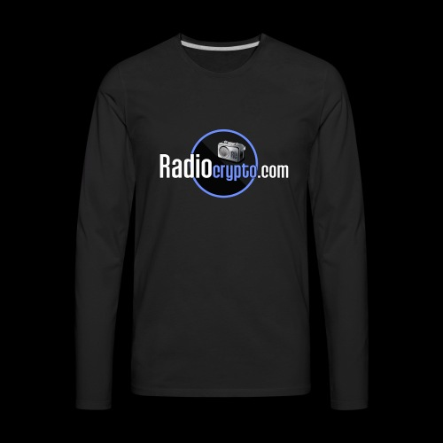 RadioCrypto Logo 1 - Men's Premium Long Sleeve T-Shirt