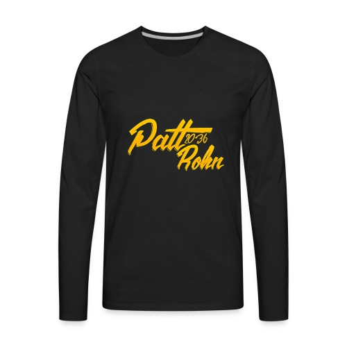 Patt Rohn 2036 Golden - Men's Premium Long Sleeve T-Shirt