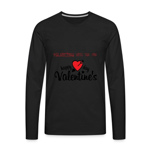 valentines - Men's Premium Long Sleeve T-Shirt