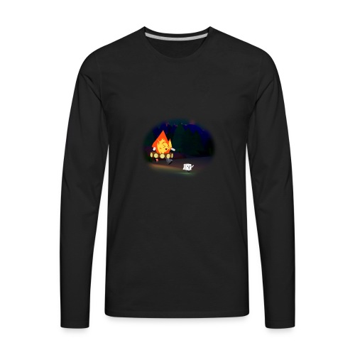 'Round the Campfire - Men's Premium Long Sleeve T-Shirt