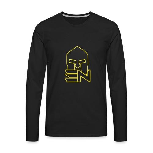 EDGE_LOGO_2-0 - Men's Premium Long Sleeve T-Shirt